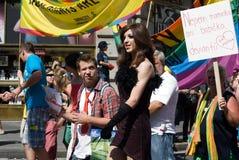 Prague Pride Parade Royalty Free Stock Photos