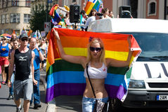 Prague Pride Parade Stock Photos