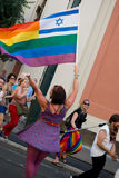 Prague Pride Parade stock photo