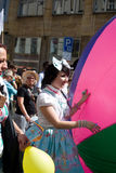 Prague Pride Parade Stock Photo