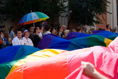 Prague Pride Parade Stock Photography