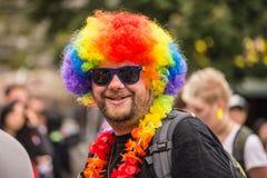 Prague Pride Parade Fotografering för Bildbyråer