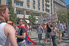 Prague Pride Pararde 2012 Royalty Free Stock Photography