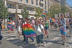 Prague Pride Pararde 2012 Royalty Free Stock Photos