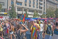 Prague Pride Pararde 2012 Royalty Free Stock Image
