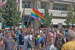 Prague Pride Pararde 2012 Stock Photos