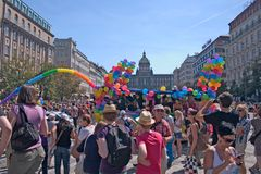 Prague Pride Pararde 2012 Stock Photo