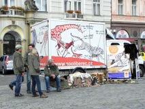 Prague, République Tchèque Image stock