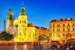 PRAGUE, RÉPUBLIQUE TCHÈQUE 12 SEPTEMBRE 2015 : Les gens, tuorist près Photos libres de droits