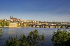 Prague ?r en av den mest h?rliga staden f?r historia, kultur och sk?nhet royaltyfri fotografi