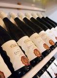 PRAGUE, REPUBLIC-03 TCHÈQUE 20 2017 : Vin de Chardonnay photo stock