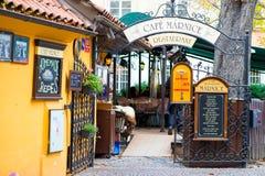 Prague Restaurant Stock Images