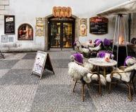 Prague Restaurant Royalty Free Stock Photo