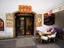 Prague Restaurant Stock Photography