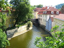 PRAGUE River Royalty Free Stock Photos