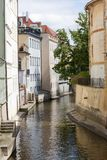 Prague river Royalty Free Stock Image