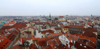 Prague roof tops (Old Town district), Czech Republic Royalty Free Stock Photo