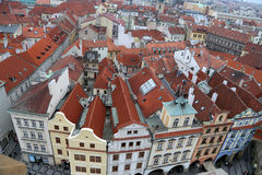 Prague roof tops (Old Town district), Czech Republic Stock Image