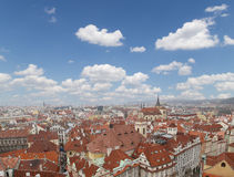 Prague roof tops (Old Town district), Czech Republic Royalty Free Stock Photos