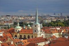Prague roof. View of Prague roof, Czech republic Royalty Free Stock Photo
