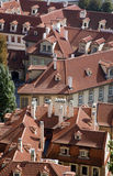 Prague - roofs Royalty Free Stock Photos