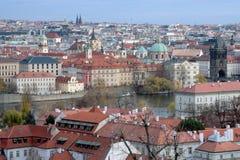 Prague roofs Royalty Free Stock Photos