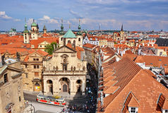 Prague roofs Royalty Free Stock Photography