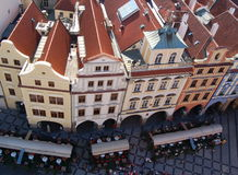 Prague rooftops Royalty Free Stock Photo