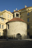 Prague rotunda royalty free stock photo