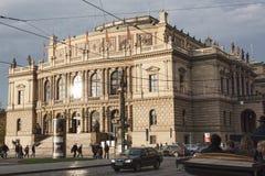 Prague Rudolfinum Stock Photo