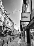 Prague, rue Photos libres de droits
