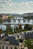 Prague's bridges Stock Images