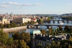 Prague's bridges Royalty Free Stock Photography