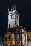 Prague's marketplace tower Royalty Free Stock Photography