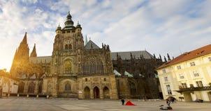 Prague. Saint Vitus cathedral Royalty Free Stock Images