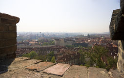 Prague seen from castle - Czech Republic Royalty Free Stock Photo