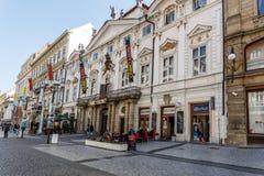 Prague shopping center Cerna Ruze Stock Photo