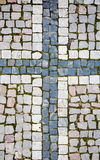 Prague sidewalk Royalty Free Stock Image