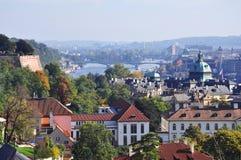Prague sightseeing view Royalty Free Stock Image