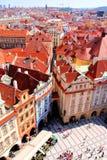 Prague sikt Fotografering för Bildbyråer