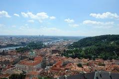 Prague skyline Royalty Free Stock Image