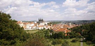 Prague Skyline Stock Images