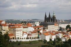 Prague Skyline Stock Image