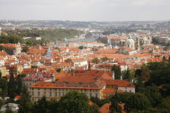 Prague Skyline Stock Photo