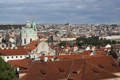Prague skyline Stock Image