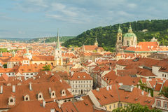 Prague skyline Royalty Free Stock Photo