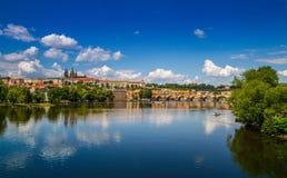 Prague skyline, Czech Republic Royalty Free Stock Image