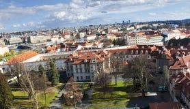 Prague Skyline. Old Europe Stock Image