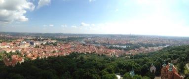 Prague skyline panorama Royalty Free Stock Photography