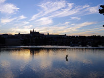 Prague skyline Stock Photography